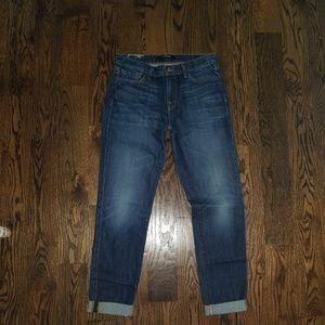 NEW J Brand Jake Skinny Boyfriend Jeans 25